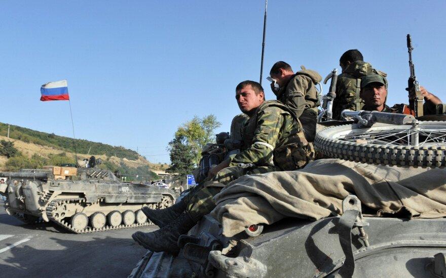 Per konfliktą Ukrainoje Rusija pasinaudojo Gruzijos karo pamokomis