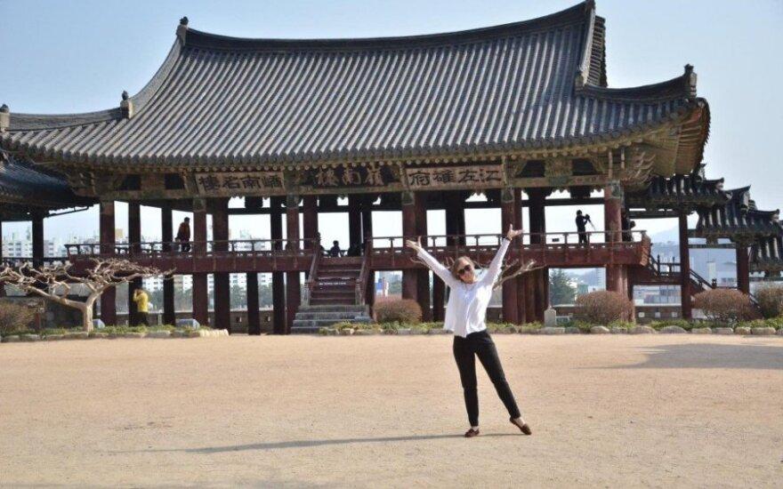 Lietuvė lankėsi Pietų Korėjoje