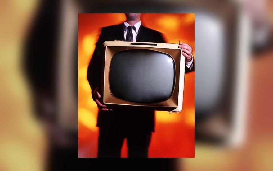 Televizorius, telvizija, vyras, media