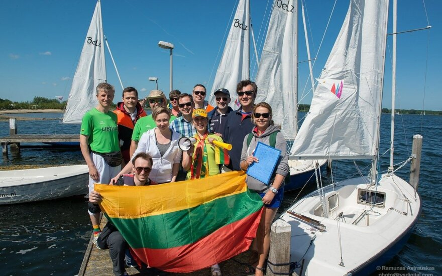 Lithuanians from Benelux countries participated in 10th annual Lithuanian sports games in Brussels