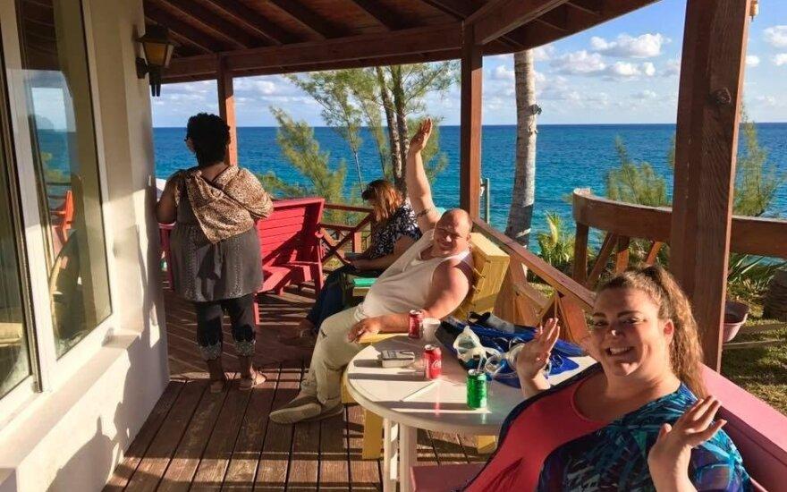 """Viešbučio """"The Resort"""" svečiai"""