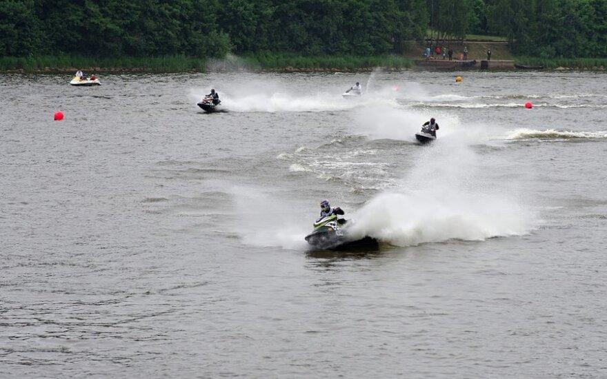 Lietuvos vandens motociklų čempionato I etapas
