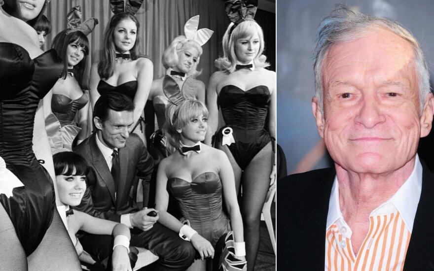 """Hugh Hefneris ir jo """"Playboy"""" imperija"""