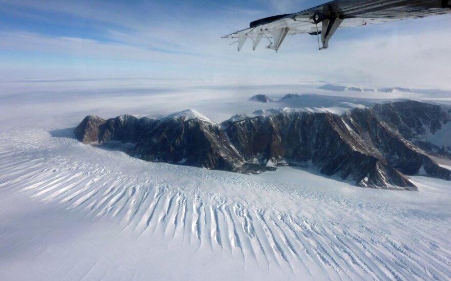 Čilės tyrimų stotis – dar vienas bandymas pasidalyti Antarktidą?