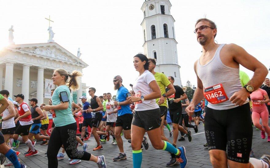 Vyksta Vilniaus maratonas