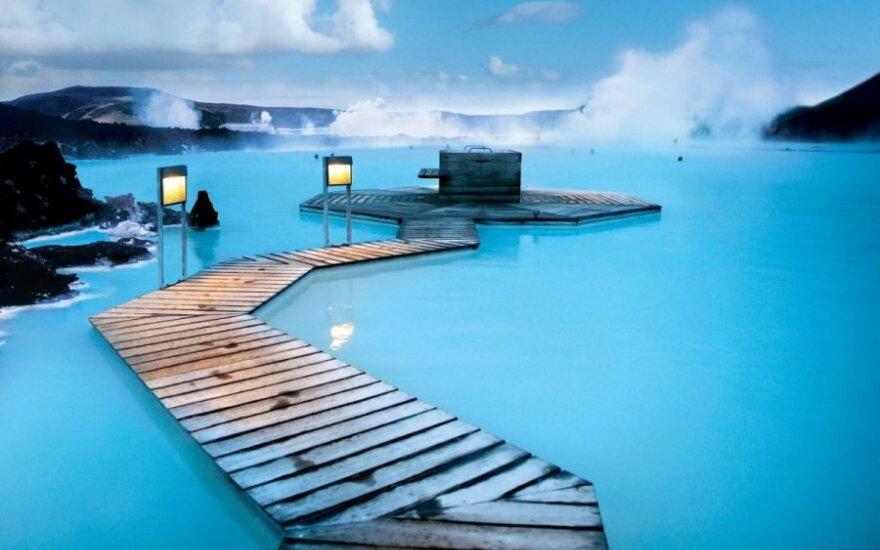 Mėlynoji lagūna Islandijoje.
