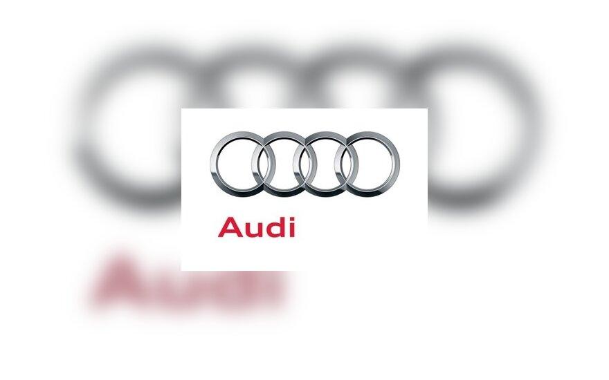 Būsimas Audi logotipas
