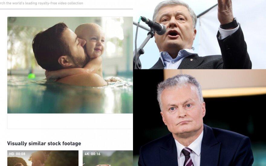 Petro Porošenka, Gitanas Nausėda, agentūros nuotrauka