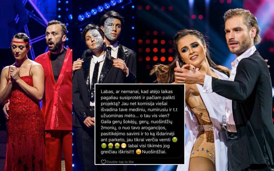 Gryn ir Stonkuvienę šokių projekte nugalėjęs Simas Kučas sulaukė nemalonių žinučių