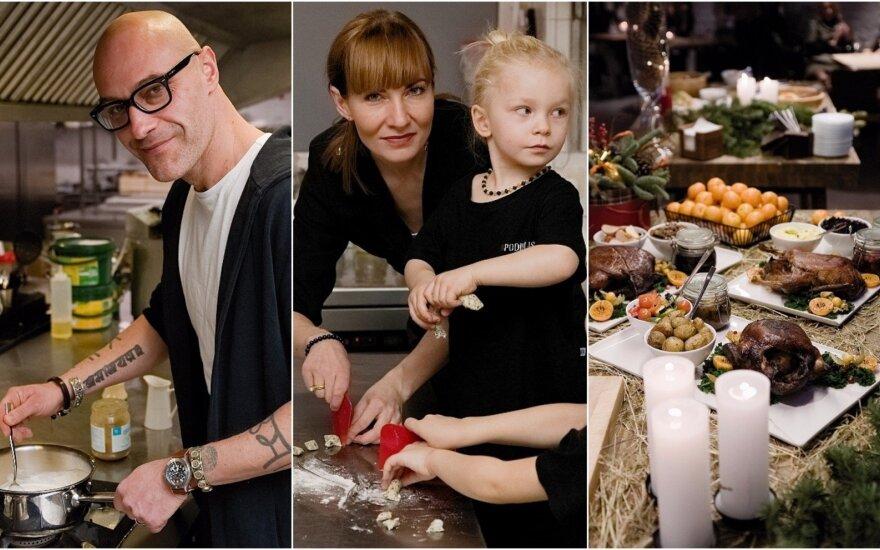 Žinomi žmonės dalyvavo kalėdinių valgių degustacijoje