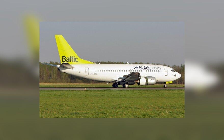"""""""airBaltic"""" iš Palangos skraidys dažniau"""
