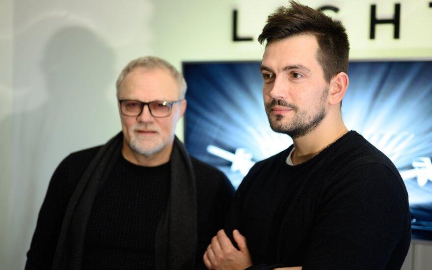 Gytis Paškevičius ir Arvydas Buinauskas