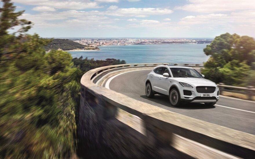"""""""Jaguar E-Pace"""" saugumas įvertintas penkiomis žvaigždutėmis"""