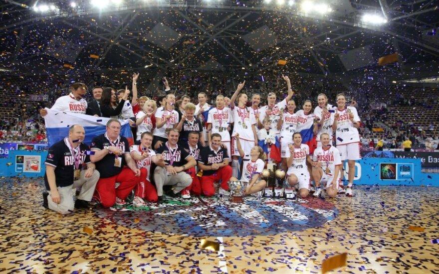 Rusijos rinktinė – Europos čempionė