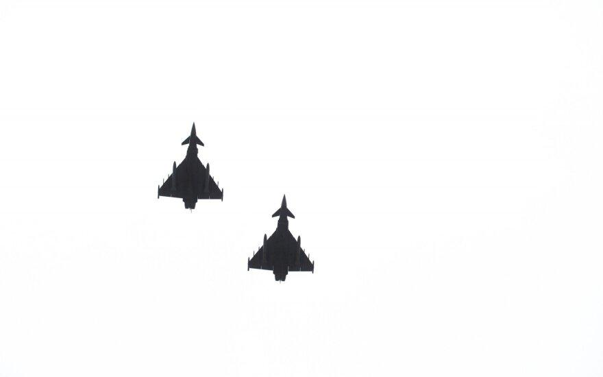 NATO jets scrambled three times in last week to intercept Russian planes over Baltics
