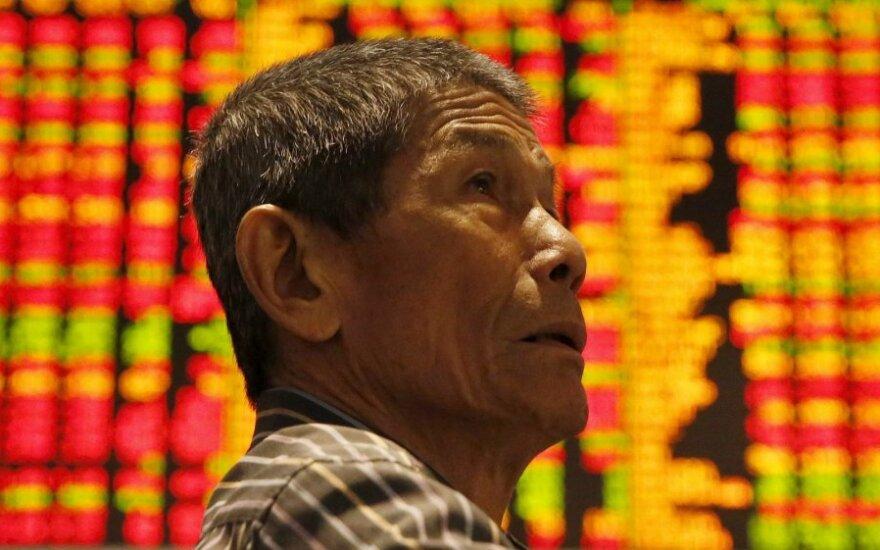 Paskelbti Kinijos rodikliai rinkose paskatino optimizmą