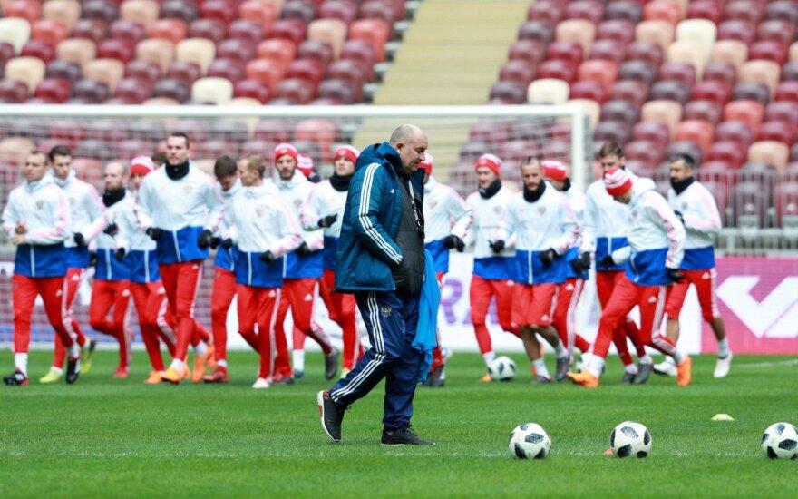 Stanislavas Čerčesovas ir Rusijos futbolo rinktinė