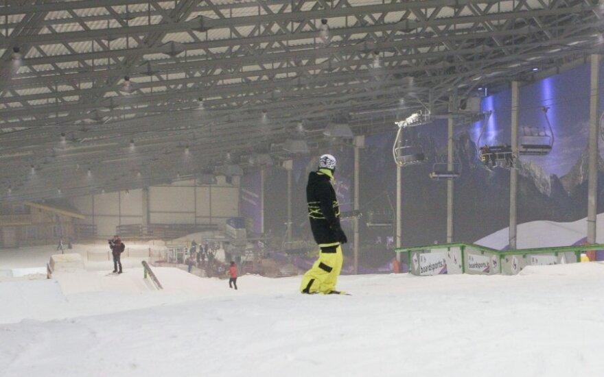 Druskininkų sniego arena (K.Baubinaitės nuotr.)