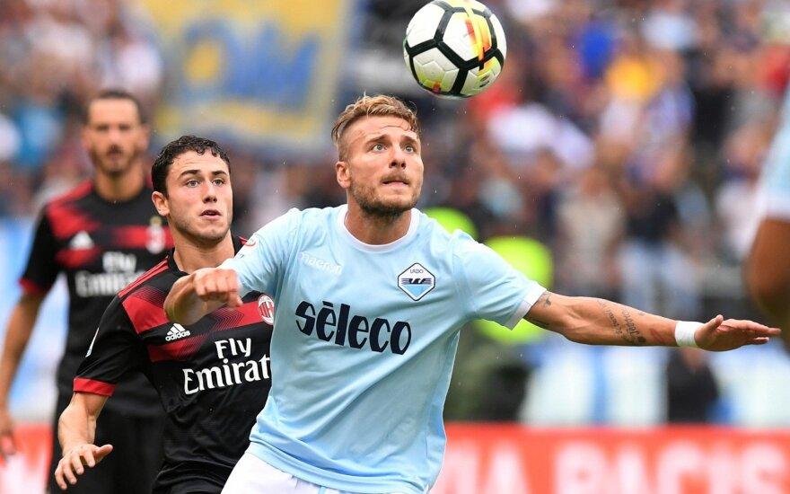 """Romos """"Lazio"""" puolėjas Ciro Immobile"""