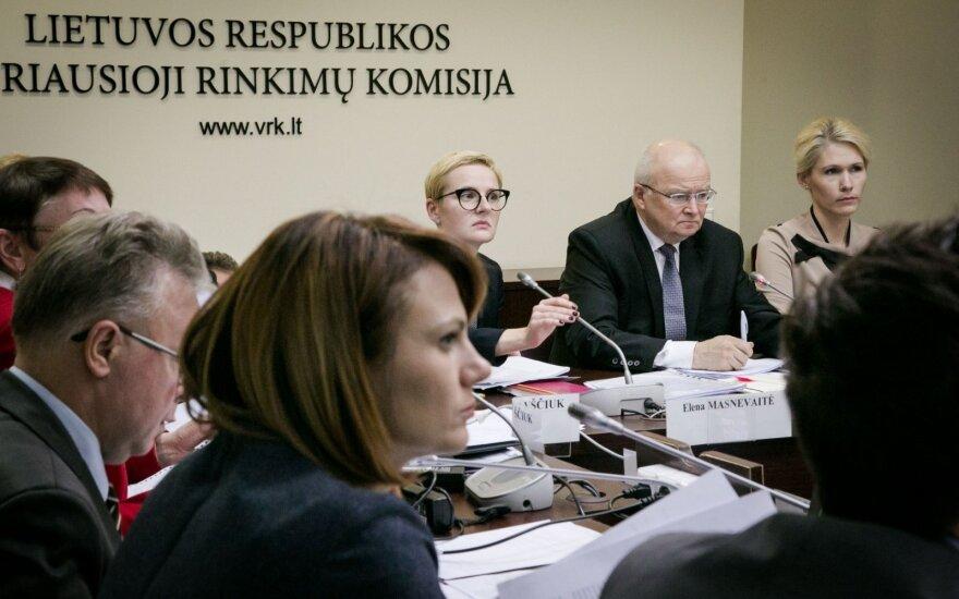 VRK partijoms 2,7 mln. eurų dotaciją padalijo pagal 2012 metų rinkimų rezultatus