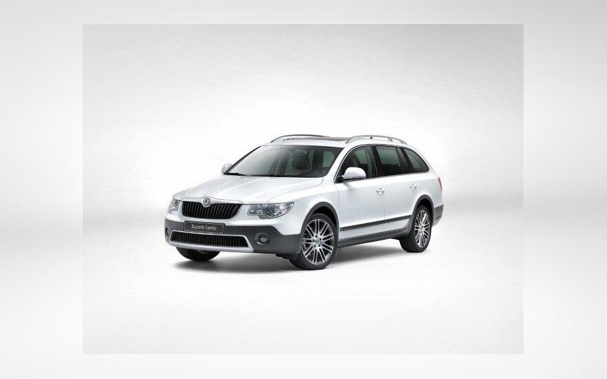 Škoda Superb Combi Outdoor