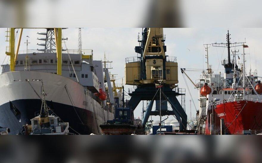 Į Klaipėdą laivus statyti atvykę ukrainiečiai alksta