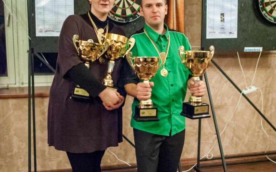 Rytė Banaitienė ir Darius Labanauskas