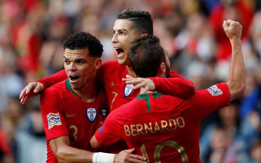 Europos tautų lyga, Portugalija - Šveicarija, Cristiano Ronaldo