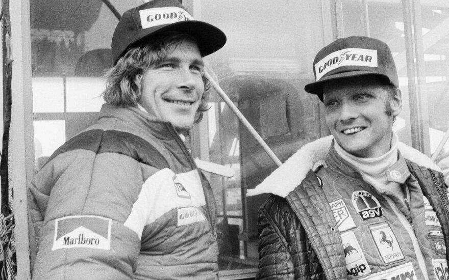 Jamesas Huntas ir Niki Lauda
