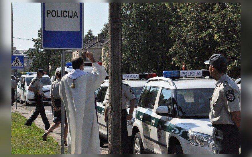 Policijos automobiliai