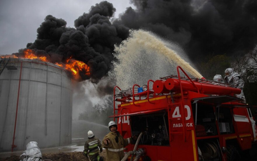 Rusijos Užbaikalės regioną nusiaubė dideli gamtiniai gaisrai