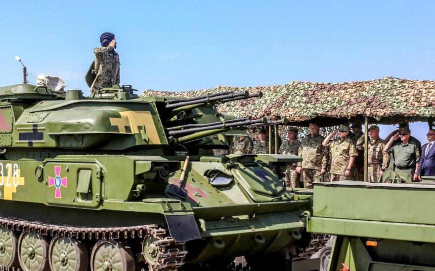 Pavojaus signalai iš Ukrainos: Rusija gali ryžtis plataus masto karui