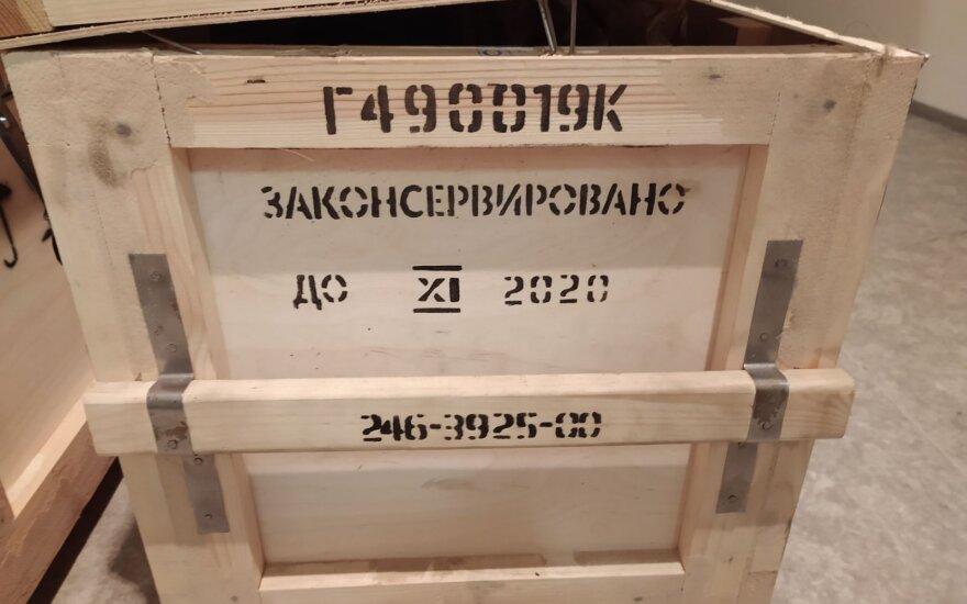 """Patikrinus įmonei """"Helisota"""" priklausančią dėžę, pradėtas tyrimas dėl strateginių prekių kontrabandos"""