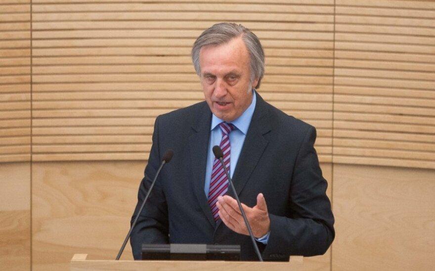 P. Gylys. Valdančioji koalicija savo užsienio politikos neturi