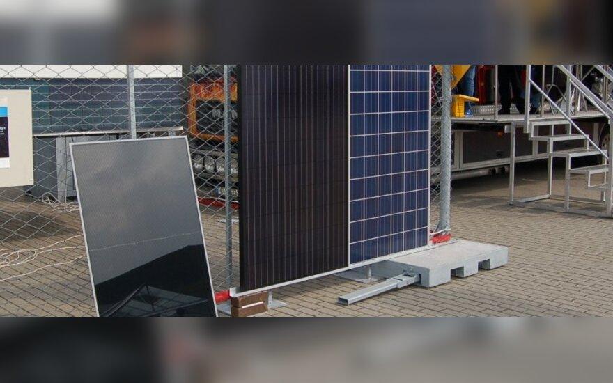 Lietuviai iš saulės modulių statys dangoraižius
