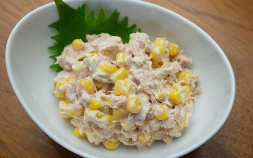 Pati skaniausia tuno mišrainė