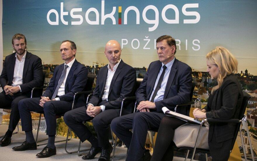 """""""Atsakingo požiūrio"""" diskusija Klaipėdoje"""