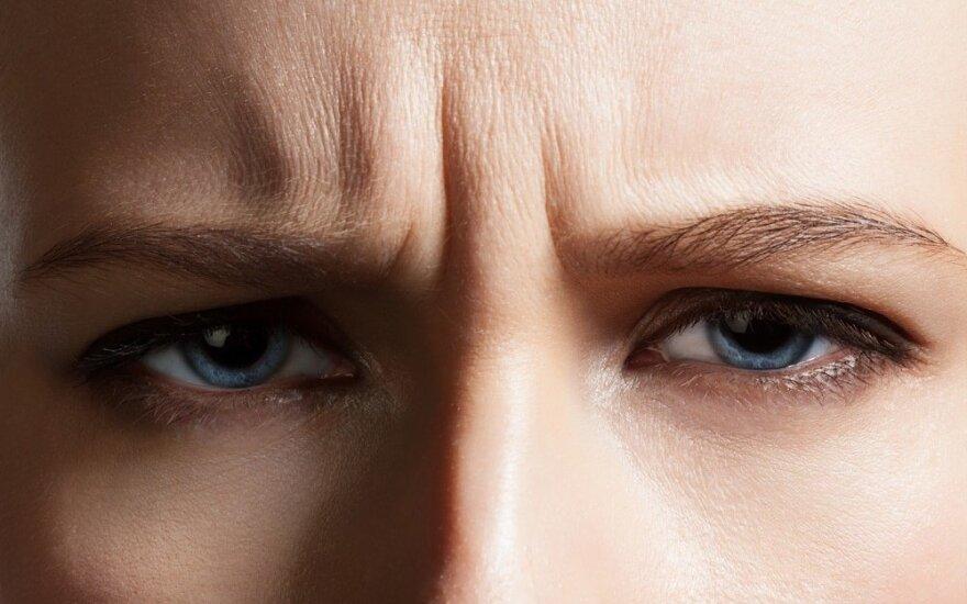 Mėlyna akių spalva liudija vieną bendrą savybę