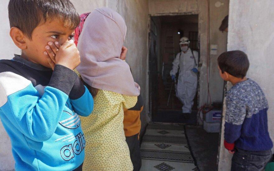JT Saugumo Taryba atmetė Rusijos pastangas apriboti humanitarinę pagalbą Sirijai