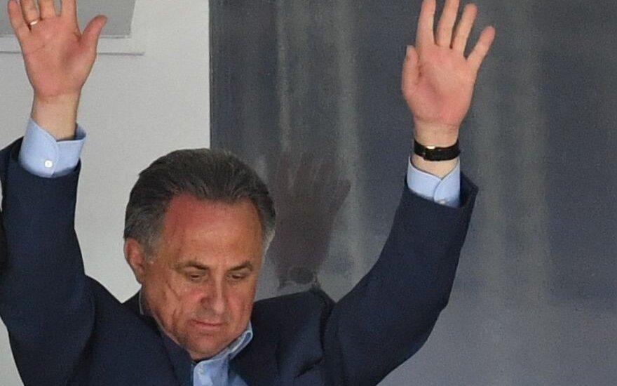 Dopingo skandalas: Rusijos sporto ministras V. Mutko nebus įleistas į Rio
