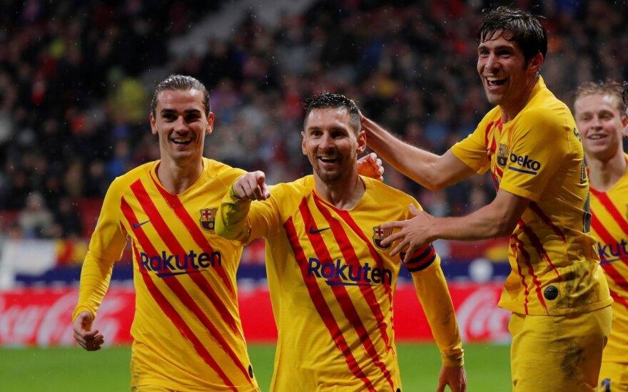 Barcelona iškovojo pergalę Madride