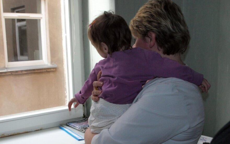 Septynmetė į Kauno klinikas pateko kritinės būklės