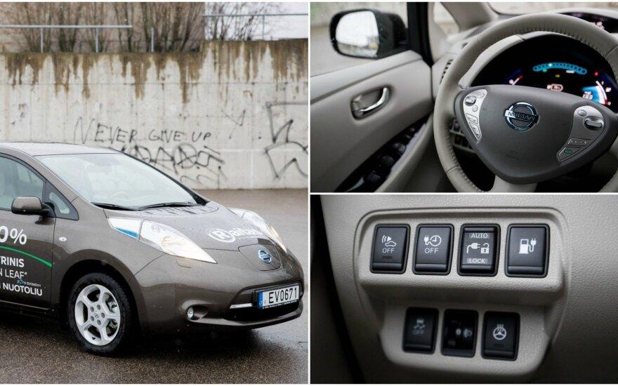 Elektromobilis, Nissan Leaf