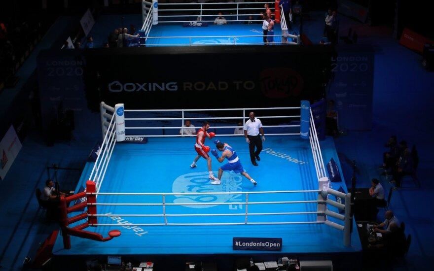Tokijo olimpinių žaidynių bokso atrankos turnyro arena