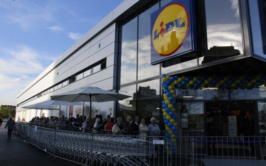 Agriculture minister lobbies LIDL to sell more Lithuanian goods