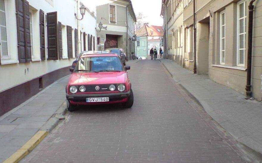 Vilniuje, Bernardinų g.