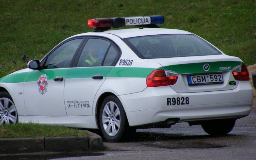 Vaizdo registratoriai – ir policijos automobiliuose