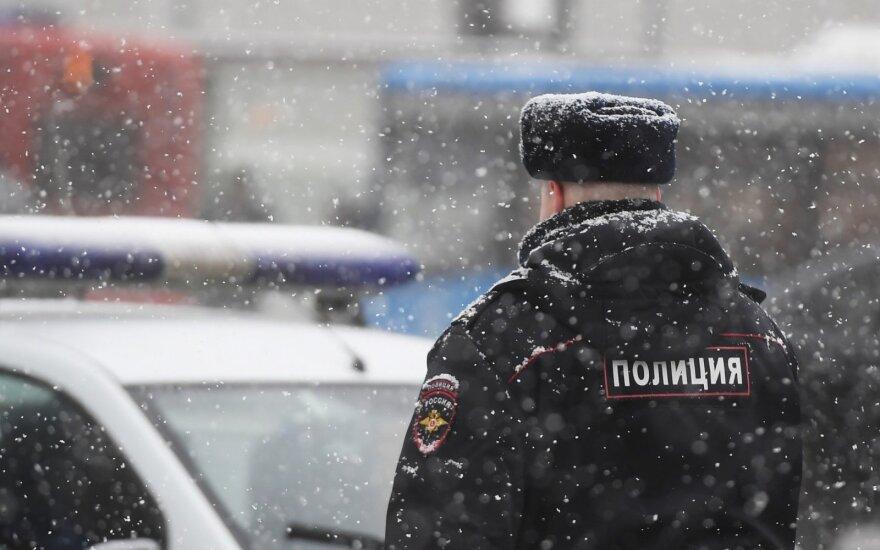 Maskvoje sulaikyti teroristinius išpuolius planavę IS nariai