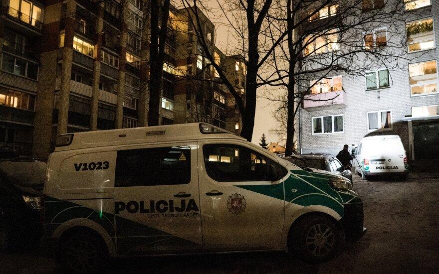 Žmogžudystė Vilniuje: bute, kraujo klane, rastas negyvas vyras