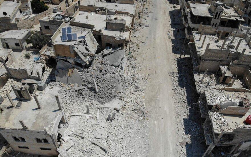 JAV įvedė sankcijas kontrabandinį kurą Rusijos pajėgoms Sirijoje tiekusiai įmonei